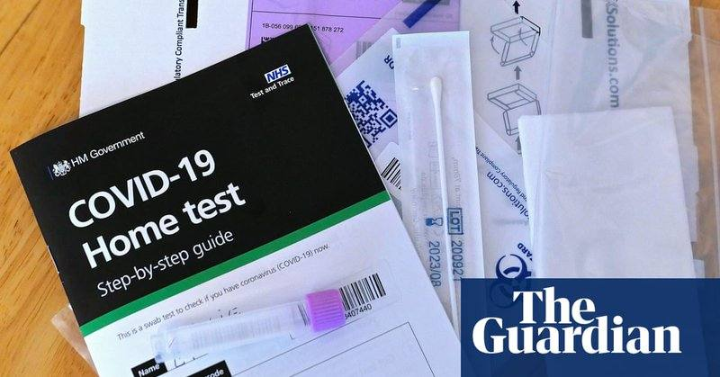 Rapid Covid testing in England may be scaled back over false positives